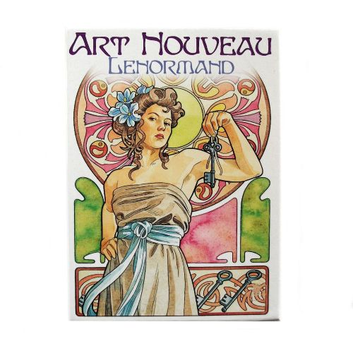 Art Nouveau Lenormand Liberty Oracle Cards